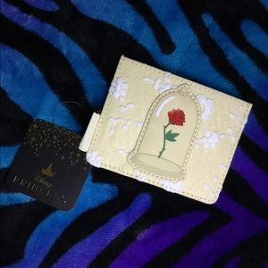 Loungefly Beauty and the Beast Lace Cardholder